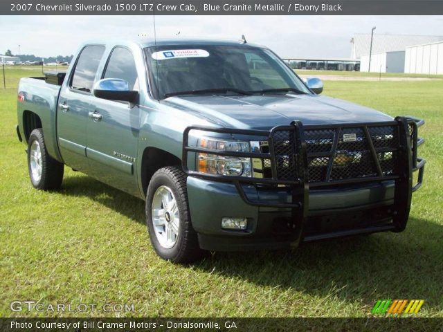 blue granite metallic 2007 chevrolet silverado 1500 ltz. Black Bedroom Furniture Sets. Home Design Ideas