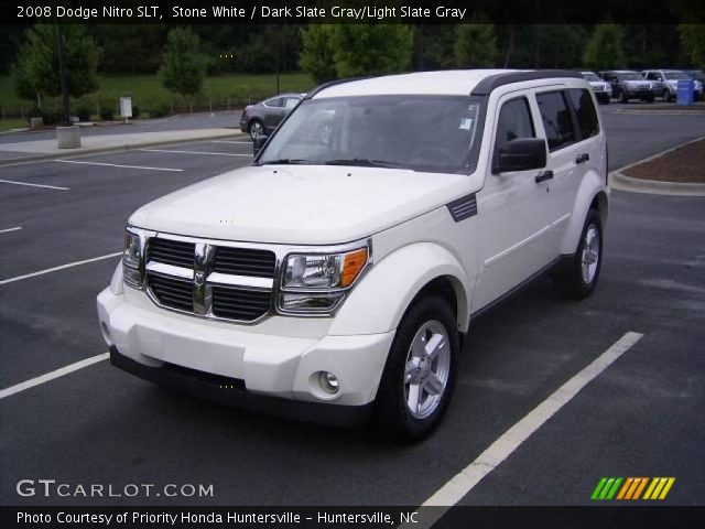 stone white 2008 dodge nitro slt dark slate gray light. Black Bedroom Furniture Sets. Home Design Ideas