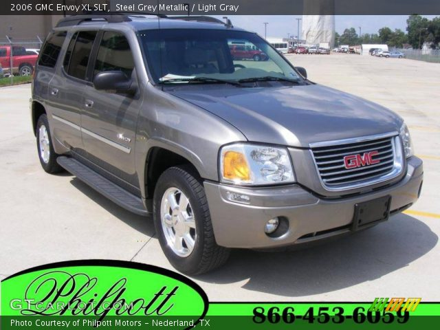 steel grey metallic 2006 gmc envoy xl slt light gray. Black Bedroom Furniture Sets. Home Design Ideas