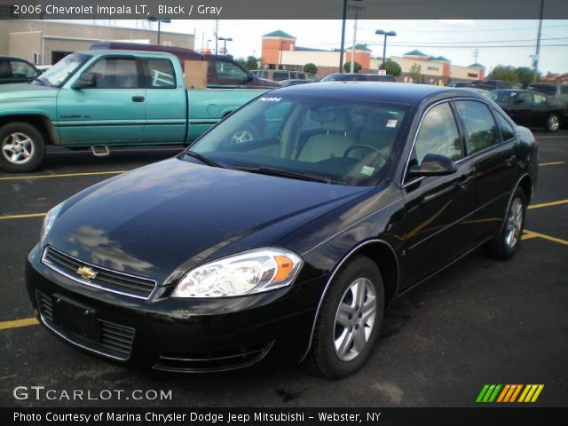 Black 2006 Chevrolet Impala Lt Gray Interior Vehicle Archive 18098169