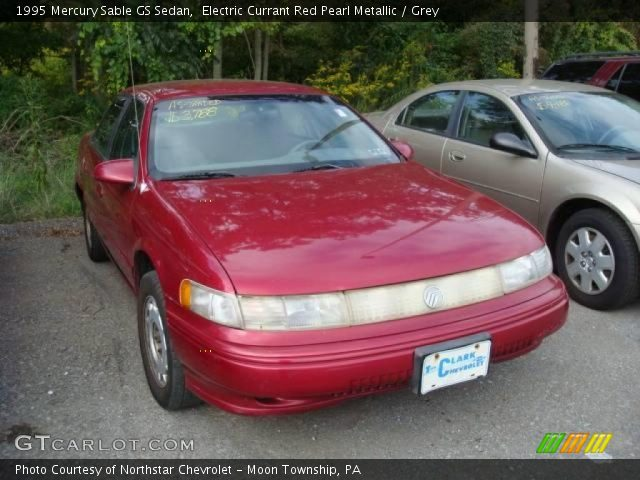 electric currant red pearl metallic 1995 mercury sable. Black Bedroom Furniture Sets. Home Design Ideas