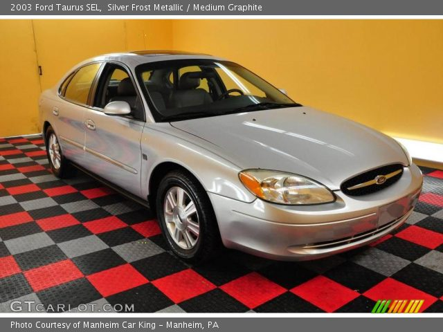 silver frost metallic 2003 ford taurus sel medium. Black Bedroom Furniture Sets. Home Design Ideas