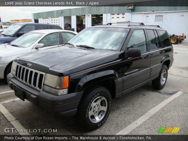 black 1996 jeep grand cherokee laredo 4x4 agate interior vehicle archive. Black Bedroom Furniture Sets. Home Design Ideas