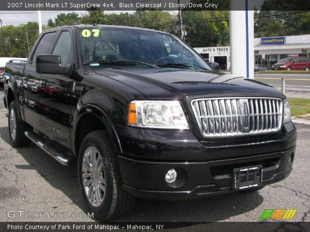 black clearcoat 2007 lincoln mark lt supercrew 4x4. Black Bedroom Furniture Sets. Home Design Ideas
