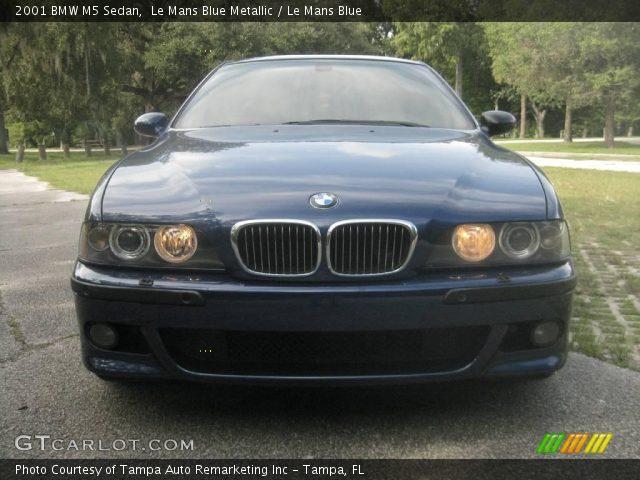 2001 Bmw M5. Le Mans Blue Metallic 2001 BMW