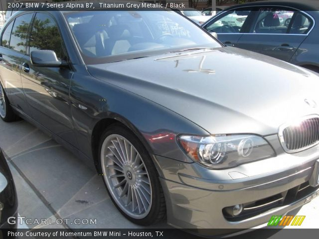 alpina b7 black. Titanium Grey Metallic 2007 BMW 7 Series Alpina B7 with Black interior 2007 BMW 7 Series Alpina B7 in Titanium Grey Metallic