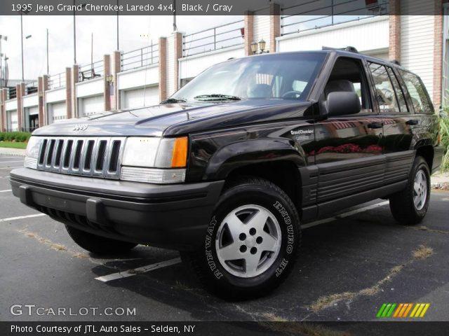 black 1995 jeep grand cherokee laredo 4x4 gray interior vehicle archive. Black Bedroom Furniture Sets. Home Design Ideas