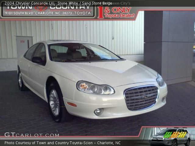2004 Chrysler Concorde LXi in Stone White