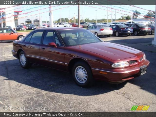 1998 Oldsmobile Eighty-Eight  in Dark Toreador Red Metallic