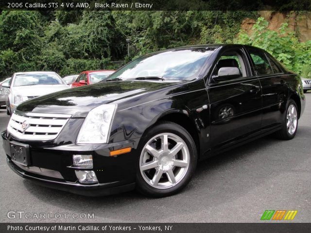 2006 Cadillac STS 4 V6 AWD in Black Raven