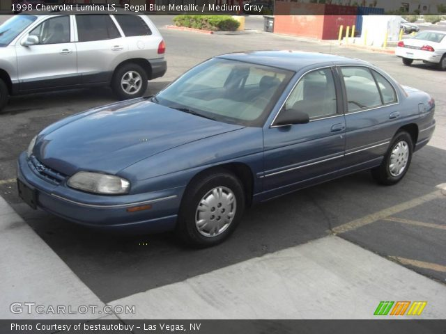 regal blue metallic 1998 chevrolet lumina ls medium gray interior gtcarlot com vehicle archive 18393493 gtcarlot com