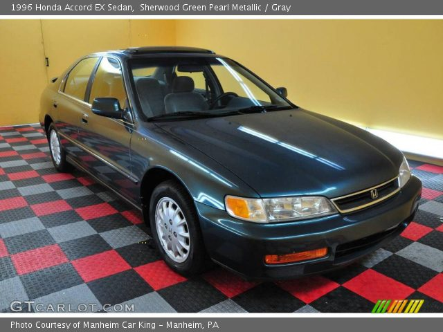1996 Honda Accord EX Sedan in Sherwood Green Pearl Metallic