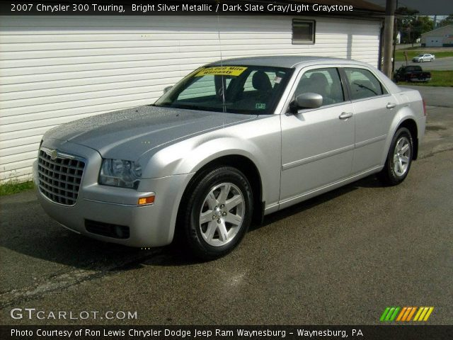 Bright silver metallic 2007 chrysler 300 touring dark - 2007 chrysler 300 custom interior ...