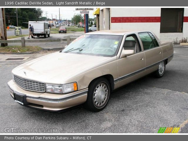 light sandrift metallic 1996 cadillac deville sedan. Black Bedroom Furniture Sets. Home Design Ideas