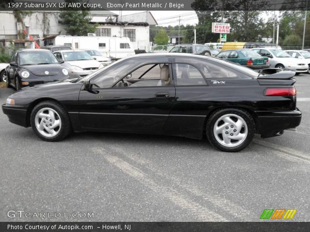 1997 Subaru SVX LSi AWD Coupe in Ebony Pearl Metallic