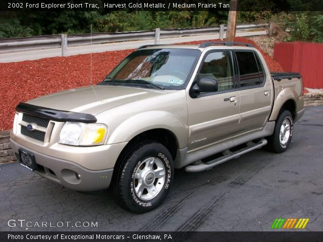 Harvest Gold Metallic 2002 Ford Explorer Sport Trac Medium Prairie Tan Interior Gtcarlot