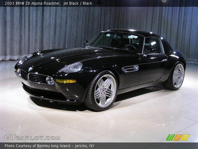 jet black 2003 bmw z8 alpina roadster black interior vehicle archive 185805. Black Bedroom Furniture Sets. Home Design Ideas