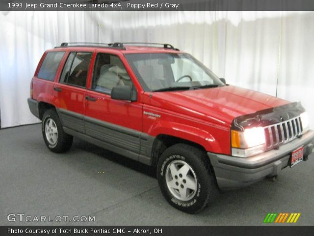 Poppy red 1993 jeep grand cherokee laredo 4x4 gray interior vehicle archive 1993 jeep grand cherokee interior