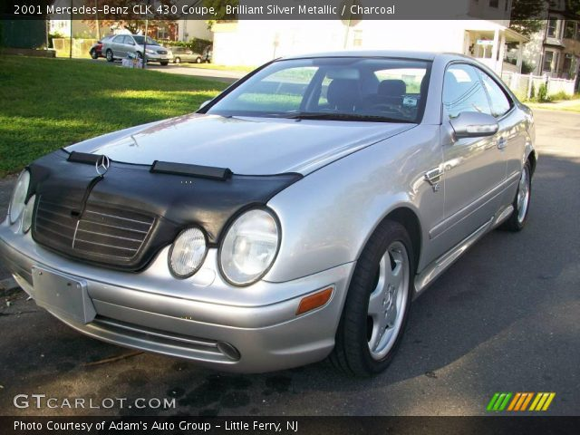 Brilliant silver metallic 2001 mercedes benz clk 430 for 2001 mercedes benz clk430