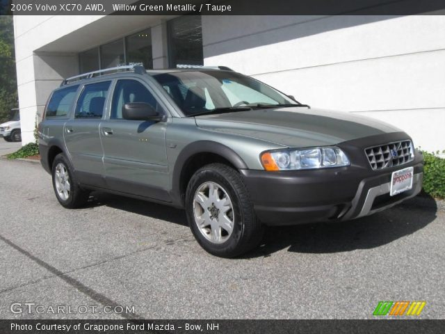 willow green metallic 2006 volvo xc70 awd taupe. Black Bedroom Furniture Sets. Home Design Ideas