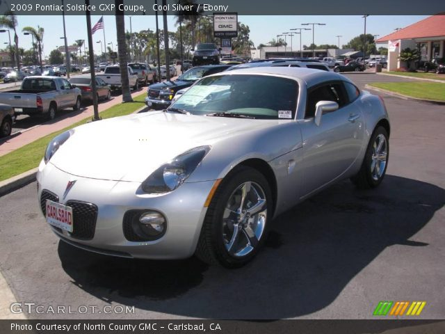 2009 Pontiac Solstice GXP Coupe in Cool Silver