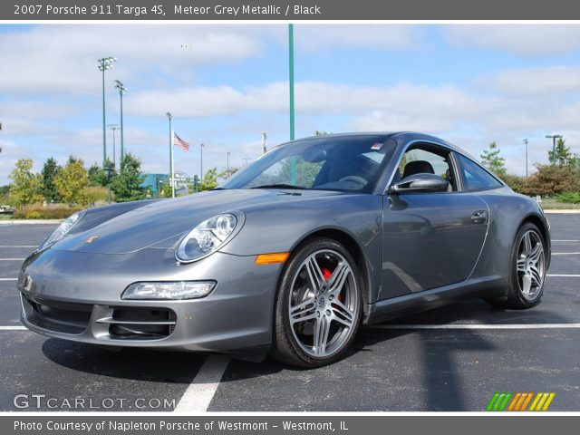 2007 Porsche 911 Targa 4S in Meteor Grey Metallic. Click