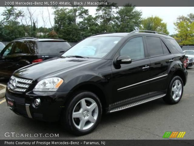 Black 2008 mercedes benz ml 550 4matic macadamia for 2008 mercedes benz ml550 4matic