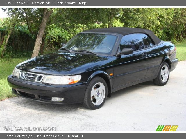 black 1999 saab 9 3 convertible warm beige interior vehicle archive 18851552. Black Bedroom Furniture Sets. Home Design Ideas