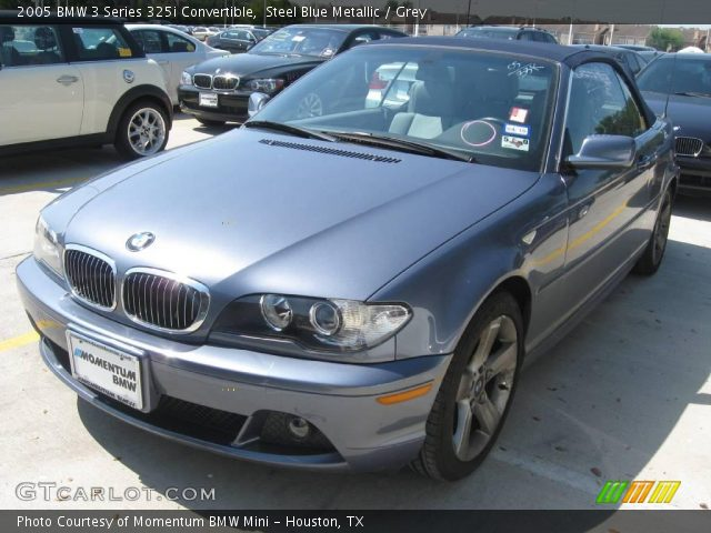 Steel Blue Metallic BMW Series I Convertible Grey - 2005 bmw 325i convertible
