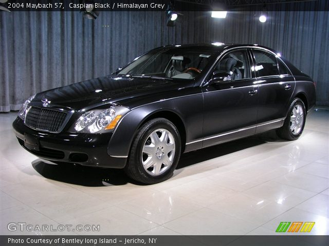 2004 Maybach 57  in Caspian Black