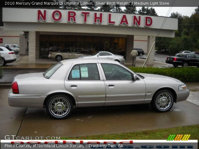 2010 Mercury Grand Marquis LS Ultimate Edition in Silver Birch Metallic