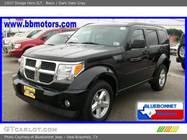 black 2007 dodge nitro slt dark slate gray interior. Black Bedroom Furniture Sets. Home Design Ideas