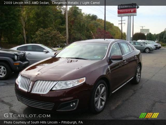 cinnamon metallic 2009 lincoln mks awd sedan light. Black Bedroom Furniture Sets. Home Design Ideas