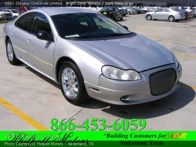 2002 Chrysler Concorde Limited in Bright Silver Metallic. Click to see ...