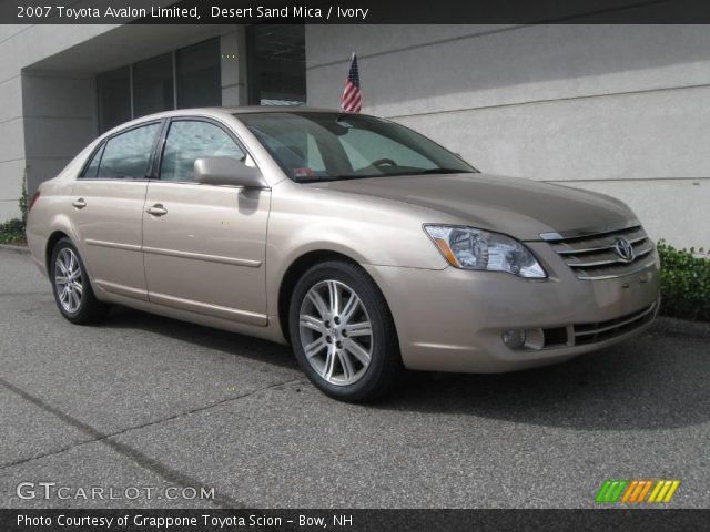 2007 Toyota Avalon Limited in Desert Sand Mica. Click to see large ...
