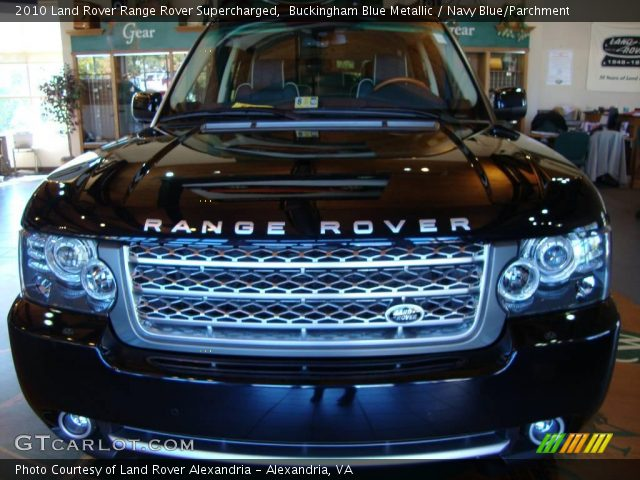 2010 Land Rover Range Rover Supercharged in Buckingham Blue Metallic