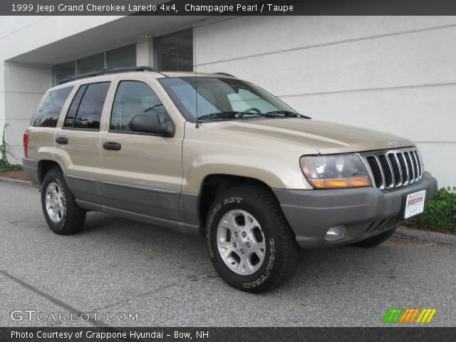 champagne pearl 1999 jeep grand cherokee laredo 4x4 taupe interior vehicle. Black Bedroom Furniture Sets. Home Design Ideas