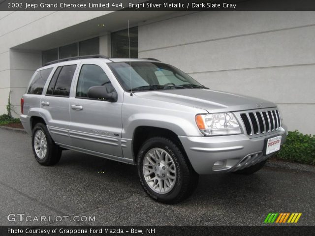 2002 jeep grand cherokee limited 4x4 in bright silver metallic click. Cars Review. Best American Auto & Cars Review