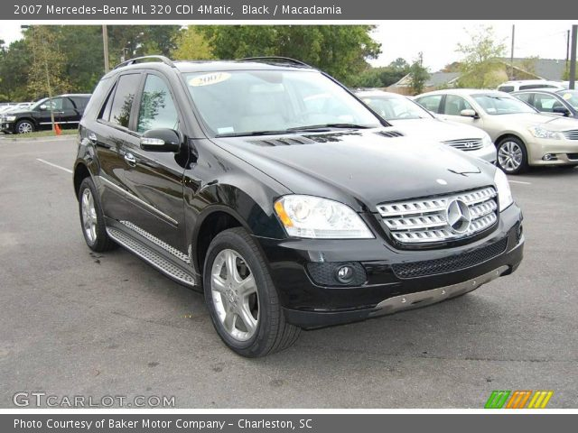 black 2007 mercedes benz ml 320 cdi 4matic macadamia interior vehicle. Black Bedroom Furniture Sets. Home Design Ideas