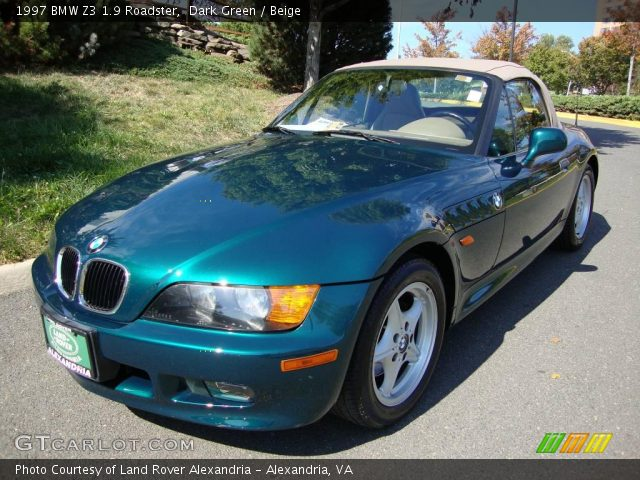 dark green 1997 bmw z3 1 9 roadster beige interior vehicle archive 19498018. Black Bedroom Furniture Sets. Home Design Ideas