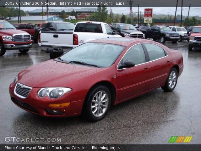 Inferno red pearlcoat 2003 chrysler 300 m sedan light - Chrysler 300 red interior for sale ...