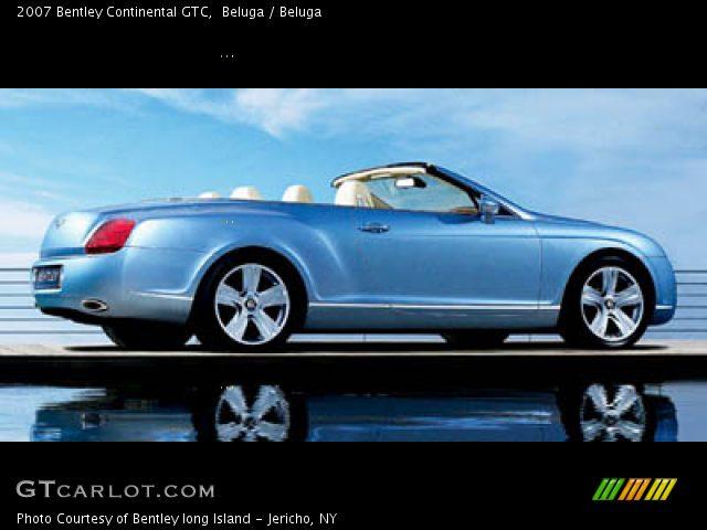 2007 Bentley Continental GTC  in Beluga