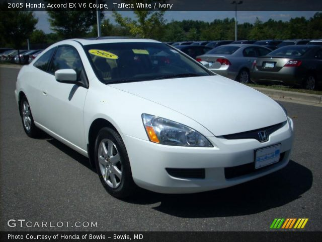 taffeta white 2005 honda accord ex v6 coupe ivory. Black Bedroom Furniture Sets. Home Design Ideas
