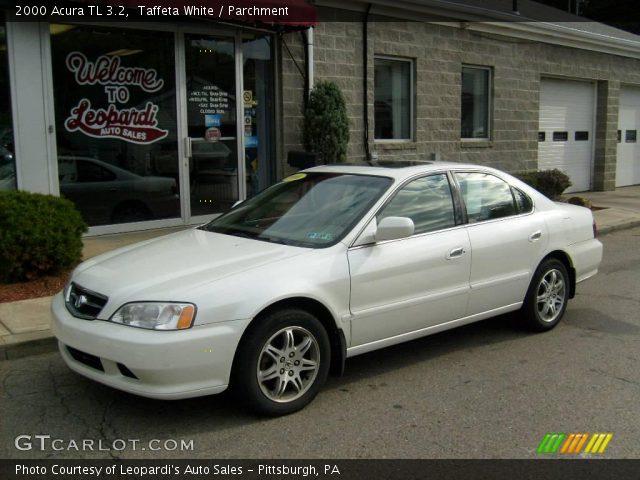 2000 Acura Tl 3 2 >> Taffeta White 2000 Acura Tl 3 2 Parchment Interior Gtcarlot