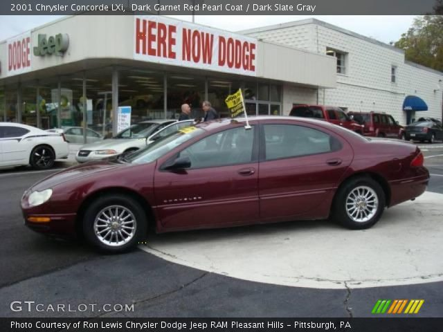 2001 Chrysler Concorde LXi in Dark Garnet Red Pearl Coat