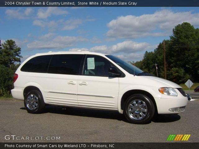 stone white 2004 chrysler town country limited medium slate gray interior. Black Bedroom Furniture Sets. Home Design Ideas