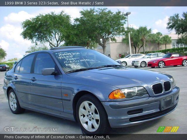 steel blue metallic 1999 bmw 3 series 323i sedan sand. Black Bedroom Furniture Sets. Home Design Ideas
