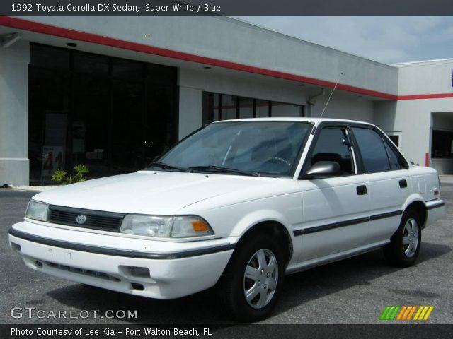 1992 Toyota corolla interior pictures