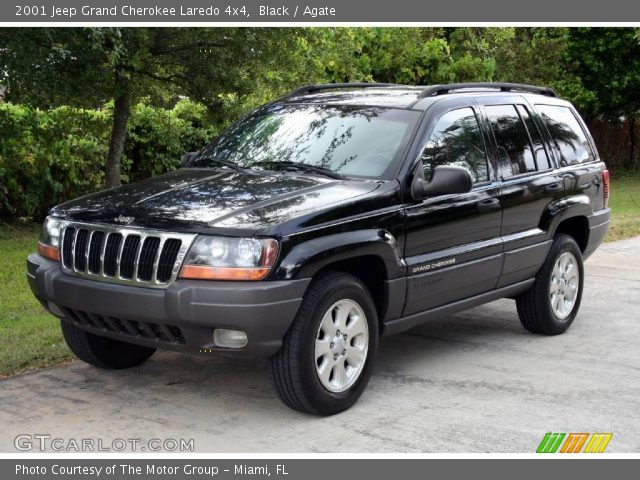 Black 2001 Jeep Grand Cherokee Laredo 4x4 Agate