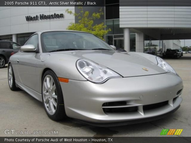 arctic silver metallic 2005 porsche 911 gt3 black. Black Bedroom Furniture Sets. Home Design Ideas